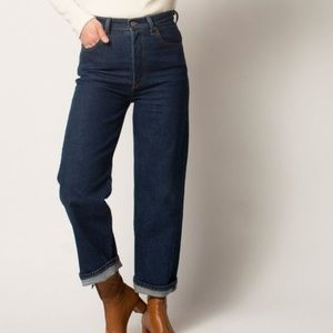 Levi's Ribcage Straight Jeans Size 29
